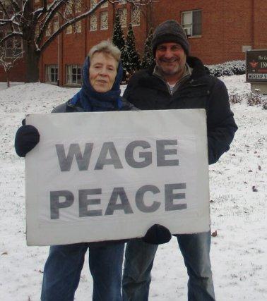 Sandy Gilman (left) and David Kramer [Photo: Colin Reinagel]
