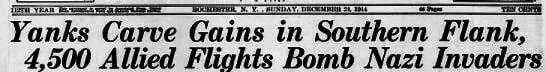Democrat and Chronicle, Dec 24, 1944