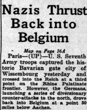 Rochester Democrat and Chronicle 17 Dec, 1944