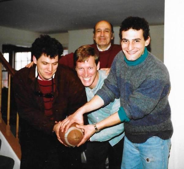 3 Fab Fivers: Andre Marquis, Phil Ghyzel, David Kramer. Above, Eugene Kramer. Sometime in the 1980s.