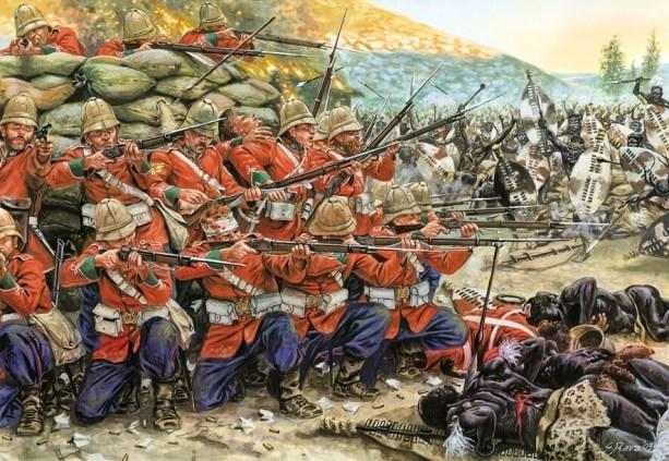 """The heroic defense of Rorke's Drift during the Zulu War (1879)"" (Weaponsandwarfare.com)"