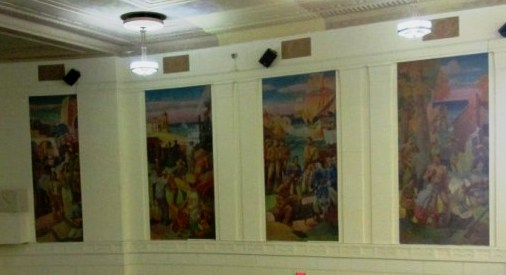From Charlotte High's unparalleled and almost lost murals