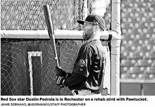 Dustin Pedroia, a 1999 lawn chair and a 2005 birthday gift