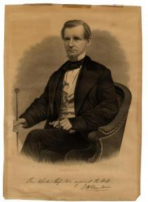 W. G. Jackman, engraver. The White Republic against the World. Portrait of John H. Van Evrie. New York: For the subscribers of The New York Day Book, after 1868. (americanantiquarian.org)