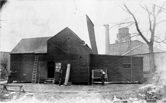 The Black Maria (/məˈraɪ.ə/ mə-RY-ə) was Thomas Edison's movie production studio in West Orange, New Jersey. It is widely referred to as America's First Movie Studio.