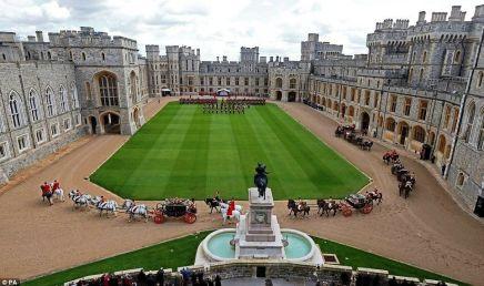 The Great Quadrangle at Windsor Castle
