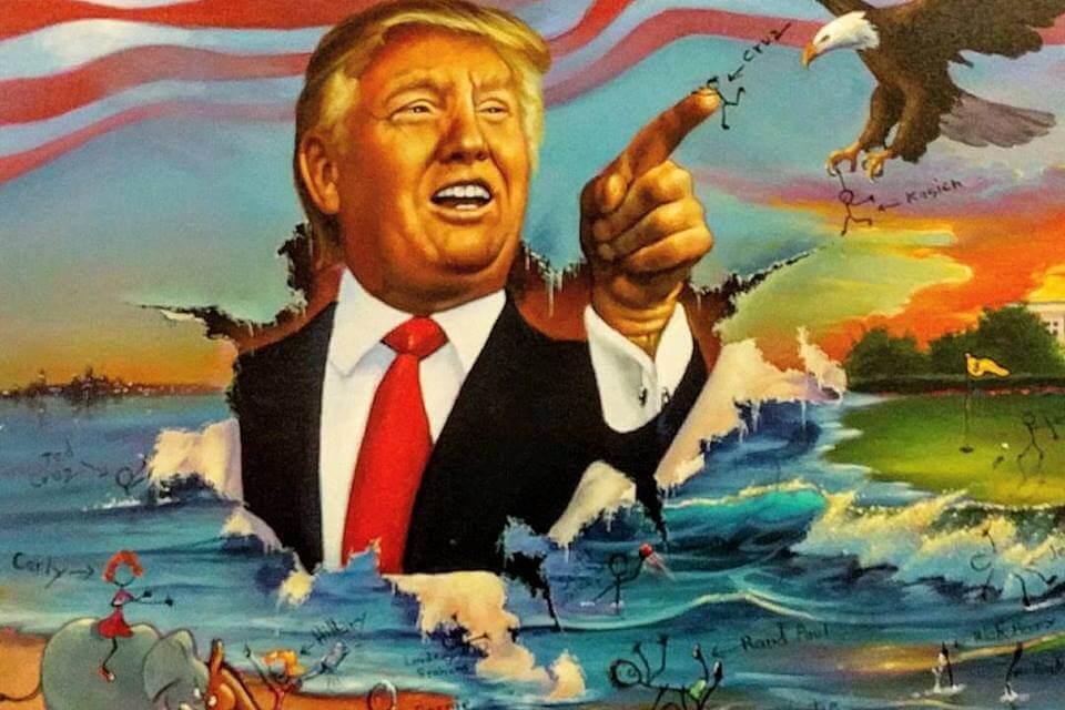 Trump's New Colossus