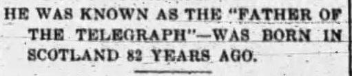 jstephenson Member Photo Clipped by jstephenson • 20 Jan 2018 Clipped from Buffalo Morning Express and Illustrated Buffalo Express Buffalo, New York 29 Apr 1901, Mon