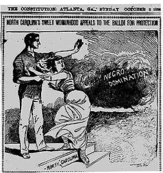 The Atlanta Constitution, October 8, 1898 (Roy Rosenzweig Center for History and New Media)