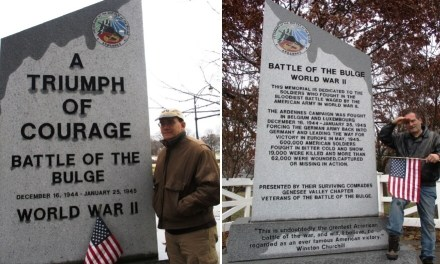 The seventy fifth anniversary of the Battle of the Bulge. And Billy Pilgrim in Mt. Hope Cemetery