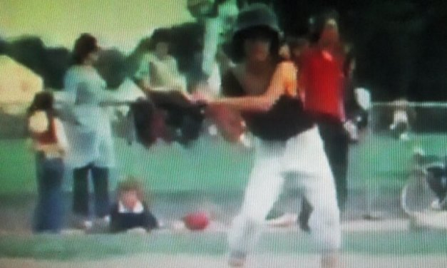 """Filmic evidence shows I """"froze"""" at the 1976 Brighton Little League All Star game and other Brighton memories"""