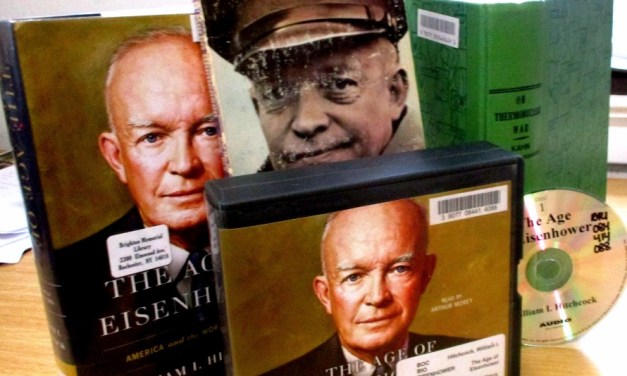 The Eisenhower presidency (and nuclear armageddon) at the Vietnam Veterans Memorial in Highland Park