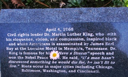Remembering April 4th, 1968 and the Civil Rights Movement at the Vietnam Veterans Memorial in Highland Park