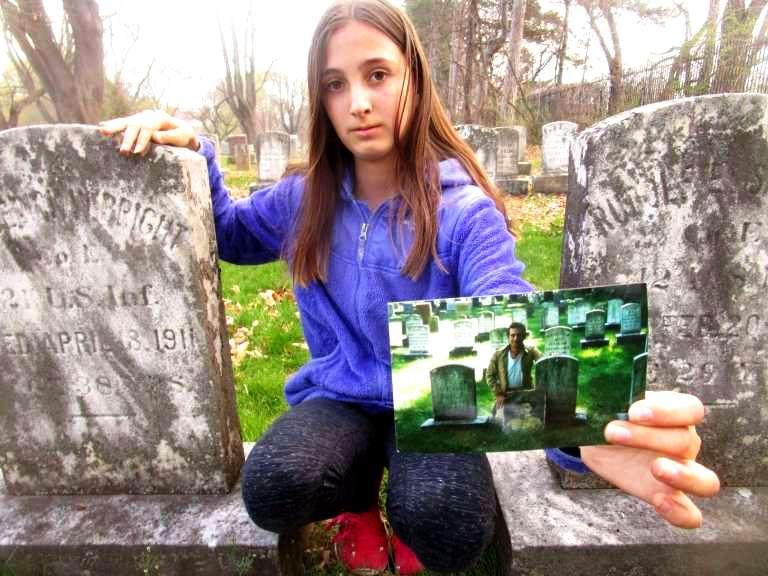 Death past and present by Leslie Kramer