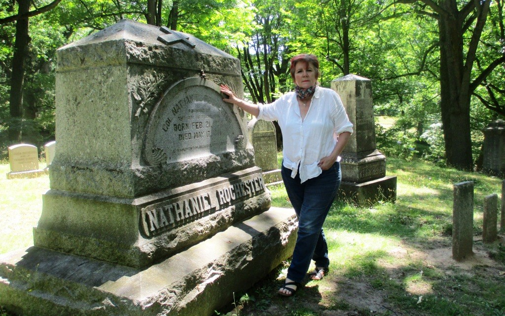 """More from Nancy O'Donnell Hale on Nathaniel Rochester: """"Defaced, erased, should statue be replaced?"""""""