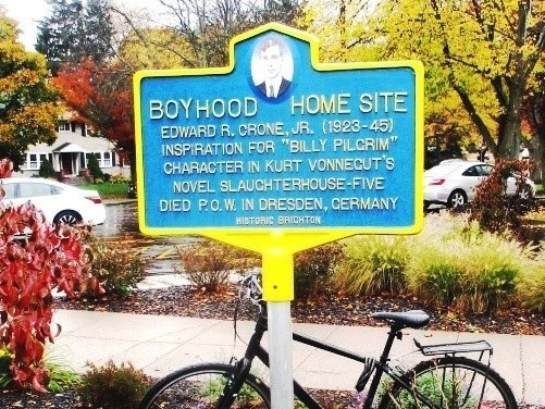At his boyhood home site, Historic Brighton dedicates Marker to Edward  Crone, Brighton War Hero and Famous Fictional Protagonist
