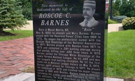 Mt. Morris's Roscoe Barnes was the Joe Morgan of his era