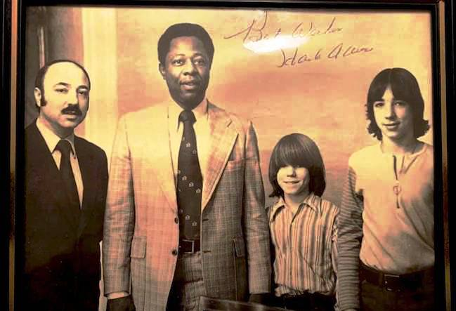 Henry Aaron's connections to Rochester: 1974, 1977, 1982 and 1986