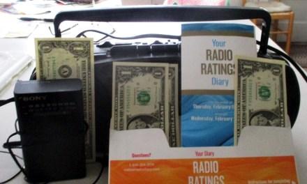 Dear Diary: My week as a Nielsen radio survey respondent
