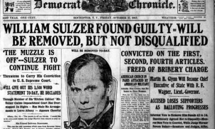 A 1913 headline many would like to see in 2021