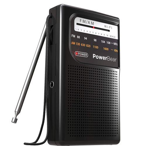 Best Handheld AM/FM Radio [On-the-go Radio]