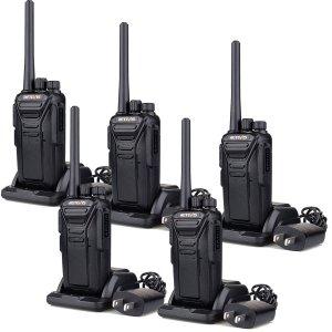 Radio FRS longue portée rechargeable avec talkies-walkies RT27 de Retevis