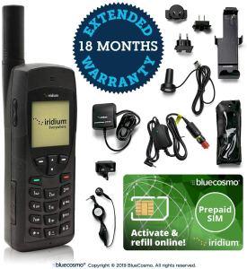 BlueCosmo Iridium 9555 Satellite Phone