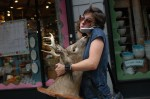 Woman With Deer Head - USA