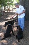 Glen Hatchell CBW Tampa picture with dogs