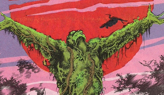 Image result for alan moores swamp thing