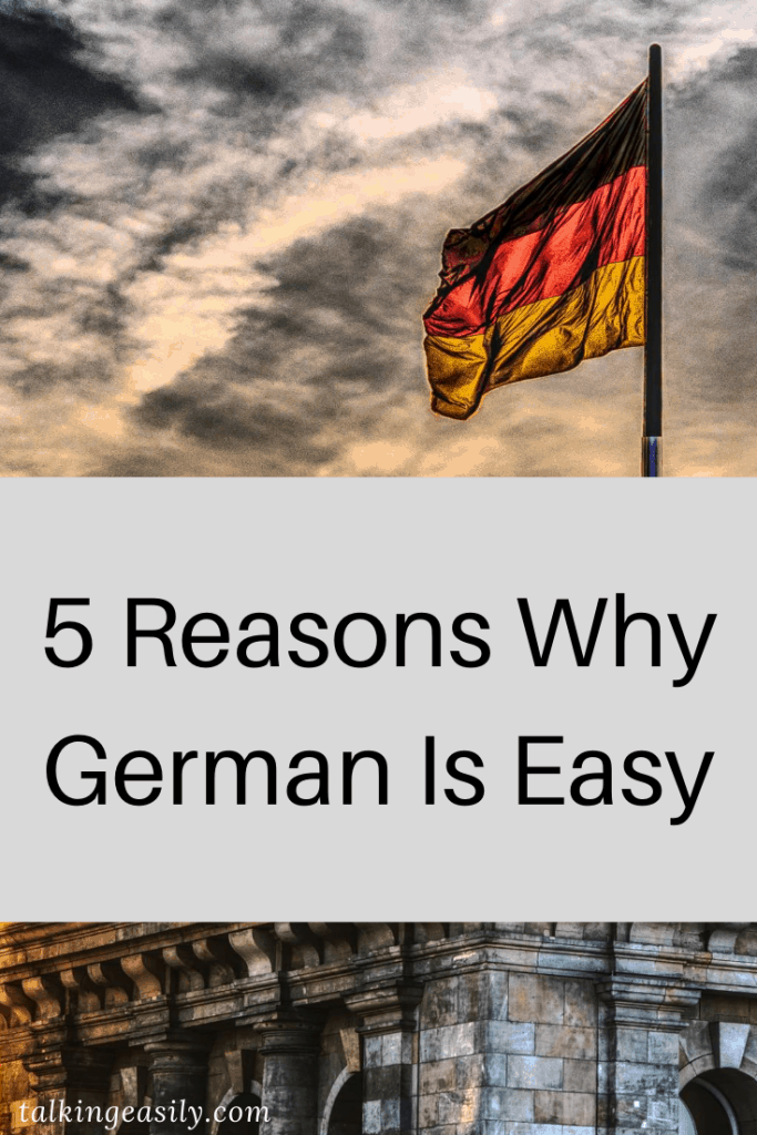 Post Pin: 5 Reasons Why German Is Easy: Title Image