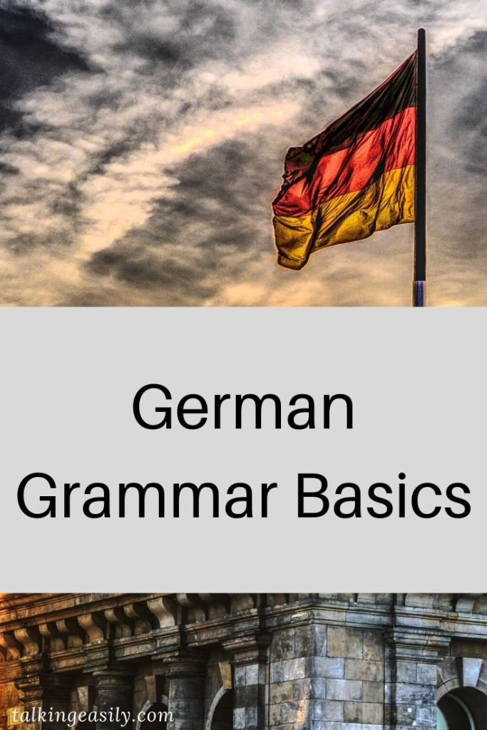 Post Pin: German Concord, Strong and Weak Verbs