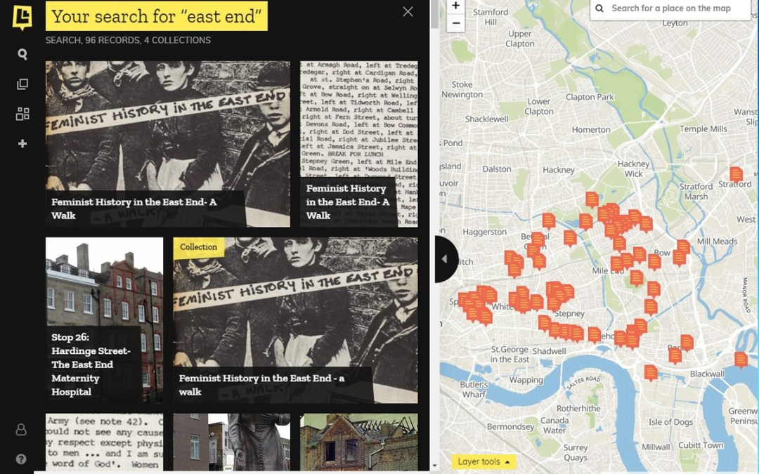 'Layers of London': digitally peel back the layers of the city's history to discover its people and places, and share your own stories