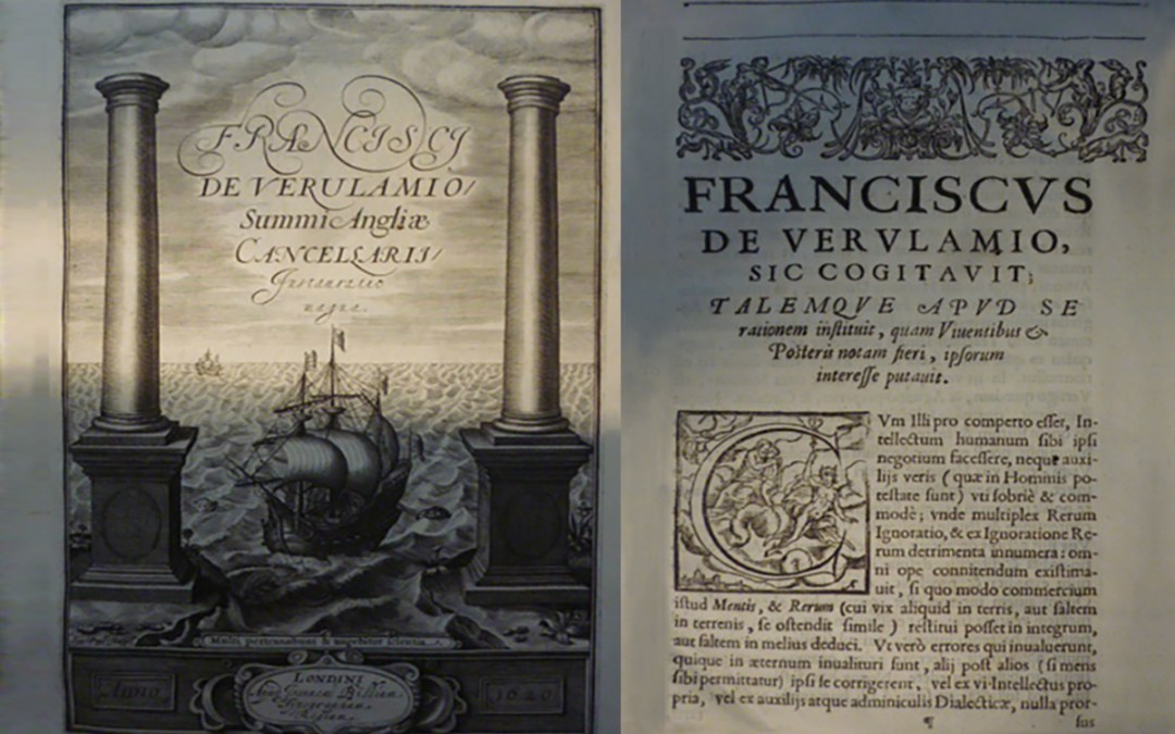 Shaking the scholarly world: Francis Bacon and 400 Years of the 'Novum Organon'