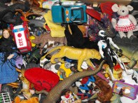 Creative counselling: A pile of props