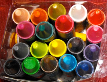 Creative counselling: Crayons for counselling!
