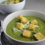 Creamy, sweet, fresh, with a kick...this Zesty Pea Soup with Spring Peas, Jalapeño, and Mint is a delicious new take on Pea Soup recipes! You get the sweet spring flavor of the peas with the cool fresh mint, followed by the peppery kick from jalapeño that leaves a wonderful warmth (not spicy-hot) feel in your mouth.