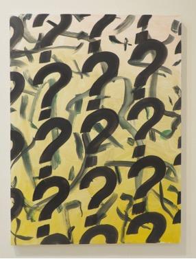 "Gregory Edwards, ""Chromosome ?"", 2012, oil on canvas"