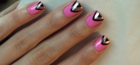 Missjenfabulous 111 This Adorable And Sweet Spring Nail Art Is So Easy To Do It S Also A Great Mani For Easter Continue Reading