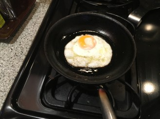 the perfect sunny side up egg for the hash