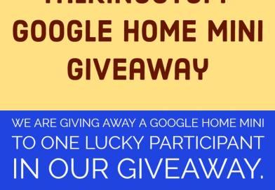 talkingStuff Google Mini Giveaway