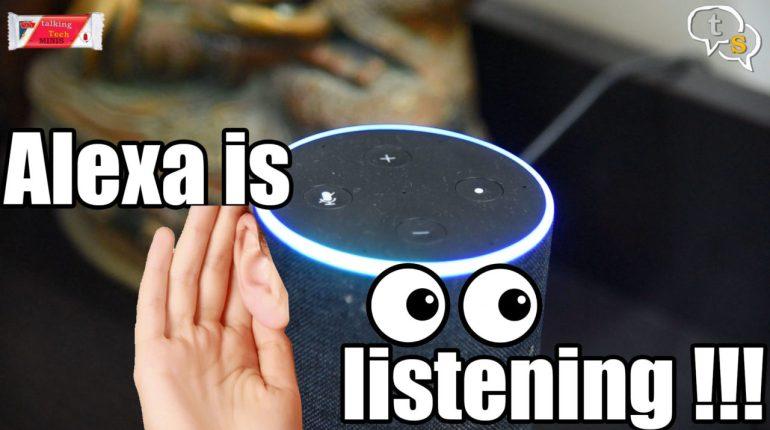 amazon echo alexa is listening