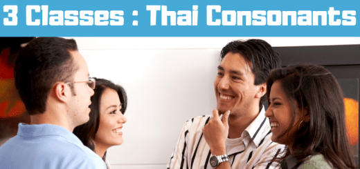 How to learn 3 Classes Of Consonants Thai