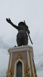 Chao Anouvong Statue