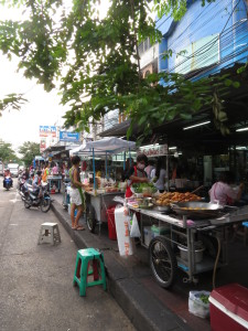 Street Vendors on Sukhumvit 101/1, Bangkok