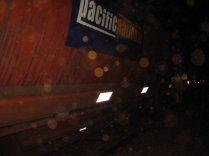 Coal train passing through Parachilna