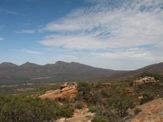 Wilpena Pound from Mount Ohlssen Bagge, Flinders Ranges, SA