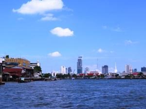 The Diversity of Bangkok, as seen from the Chao Phraya Rive