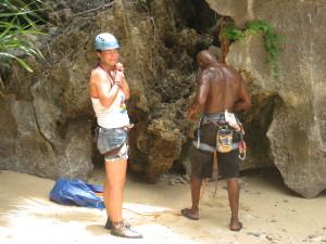 Rock Climbing on Cat Ba Island
