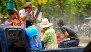 Songkran, Chiang Mai
